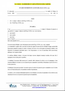 Incarico di Preposto per la Sicurezza ai sensi del D.Lgs. 81/08