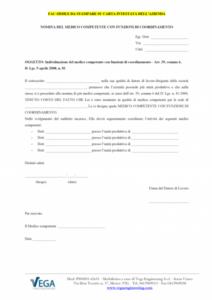 Nomina Medico Competente con Funzioni di Coordinamento